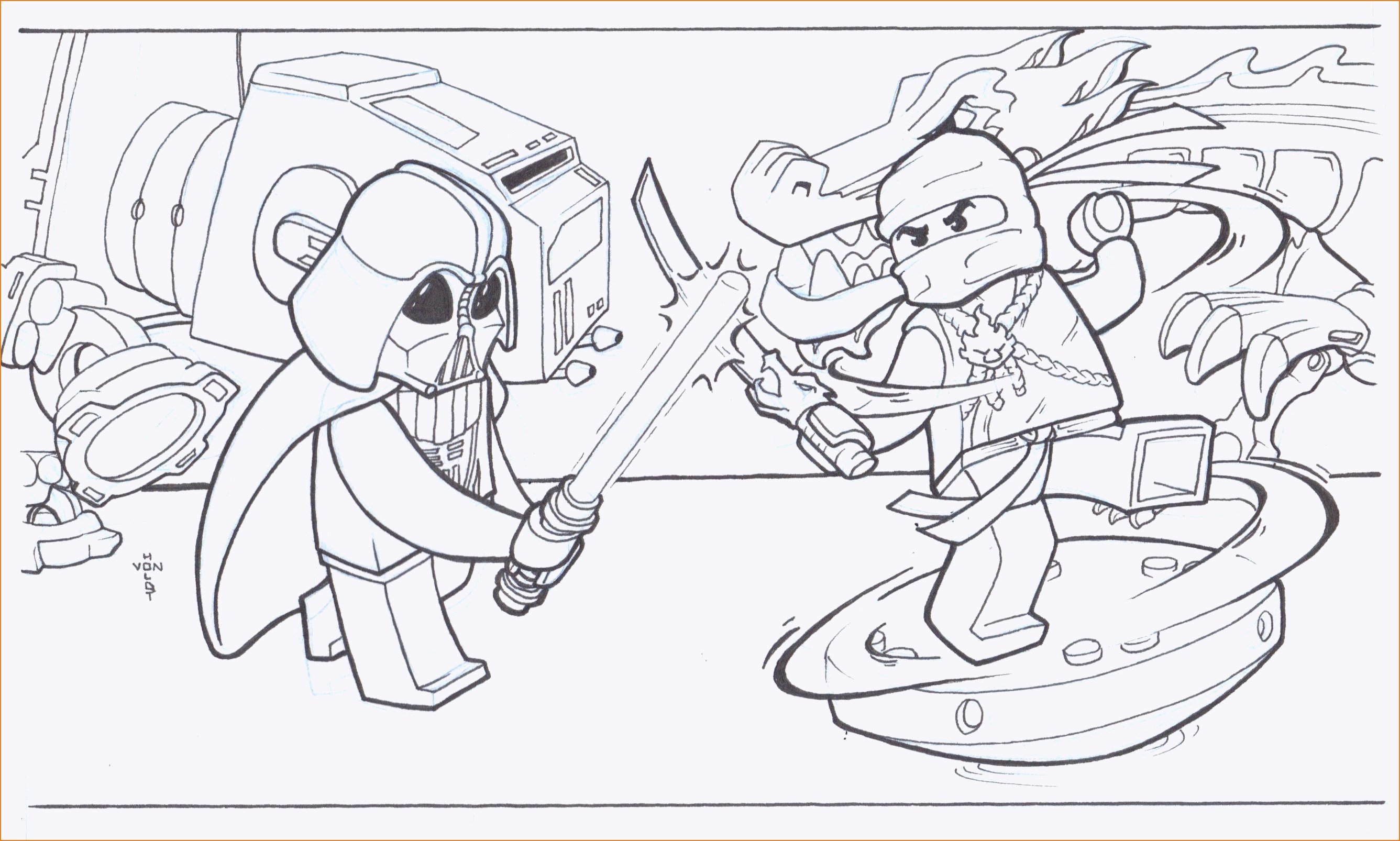Ninjago Bilder Zum Ausdrucken Kostenlos Inspirierend 40 Ninjago Ausmalbilder Zane Scoredatscore Genial Ninjago Galerie