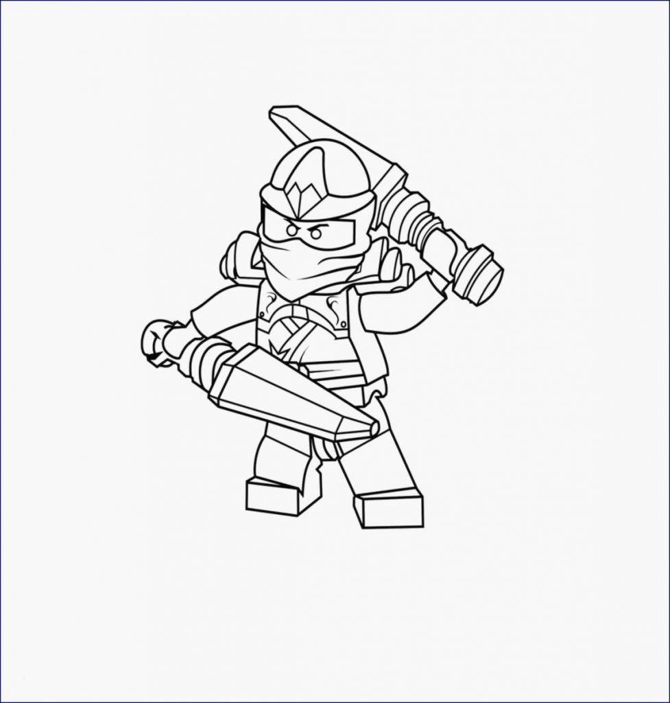 Druckbare Malvorlage Ausmalbild Ninjago Beste druckbare