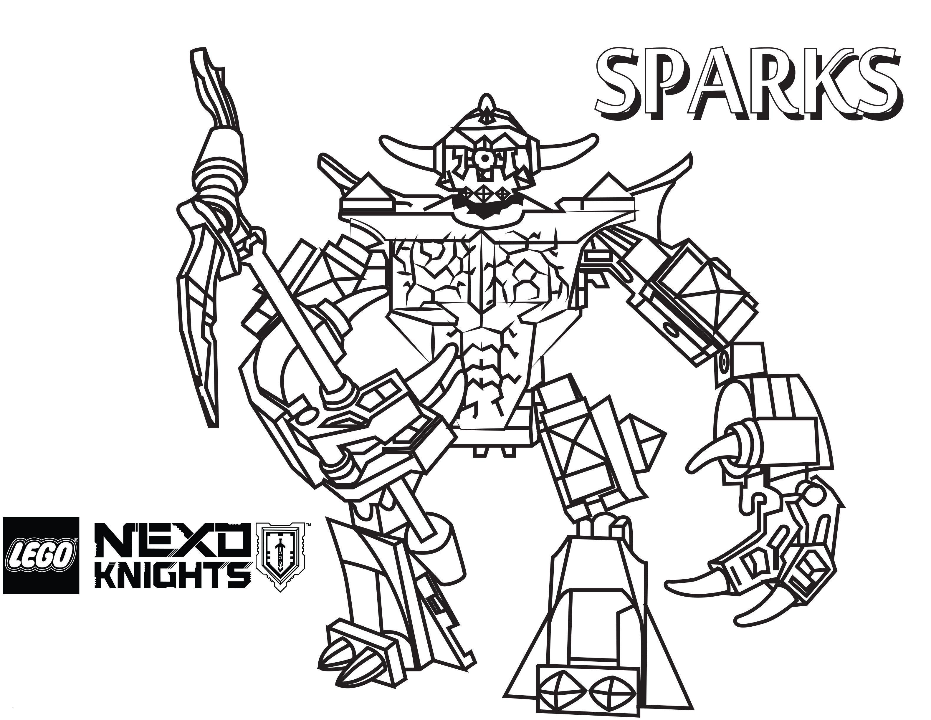 Ninjago Lego Ausmalbilder Das Beste Von Nexo Knights Ausmalbilder Zum Drucken Genial Lego Ninjago Frisch Bilder