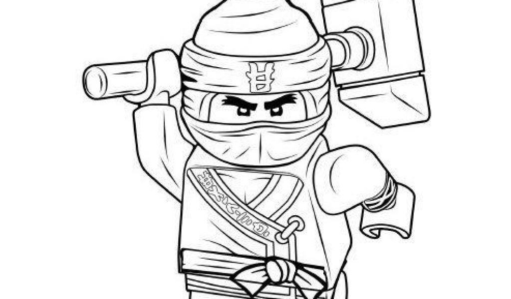 Раскраска лего ниндзяго ллойд