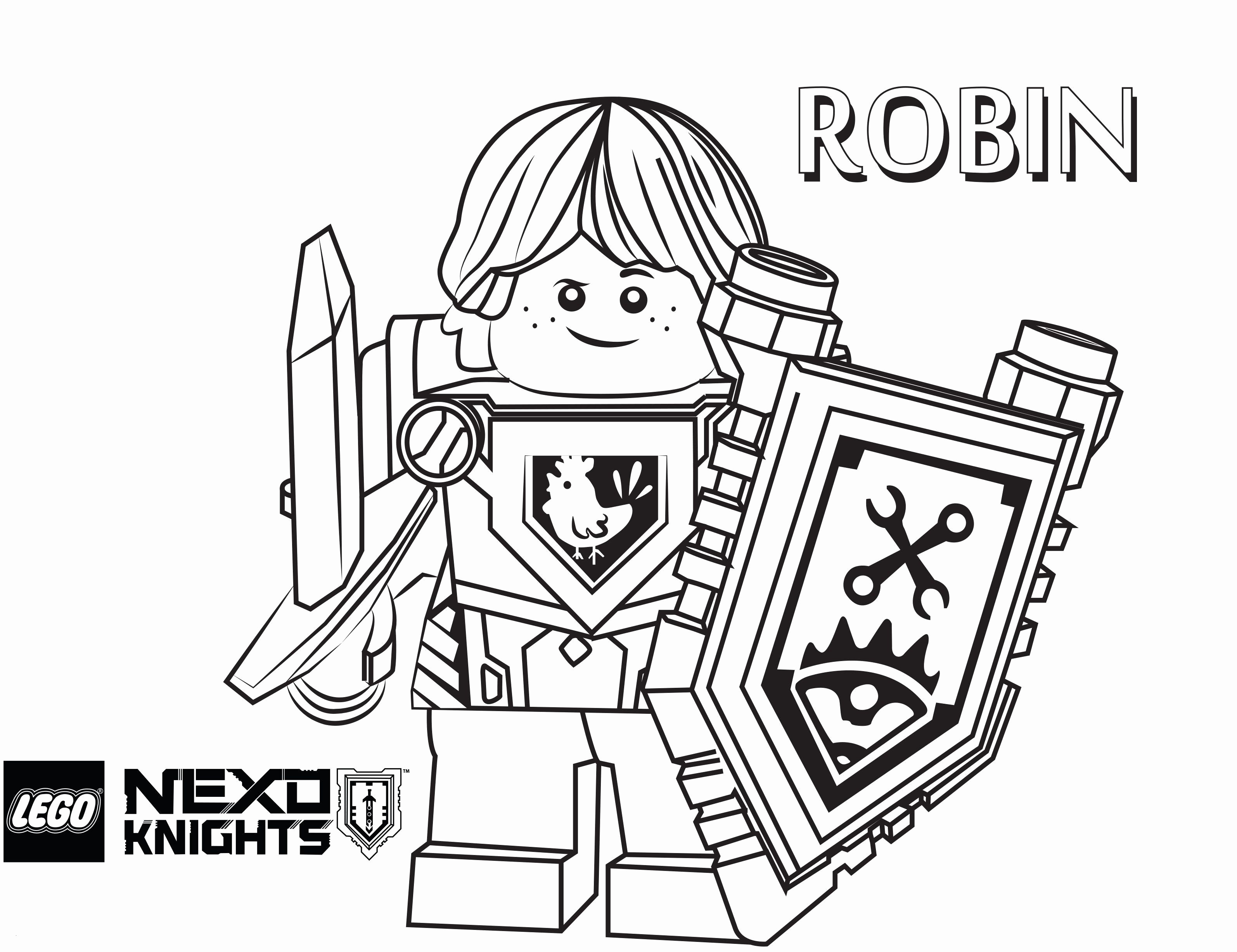 Ninjago Lloyd Ausmalbilder Neu Coloriage Lego Nexo Knights élégant 37 Lego Ninjago Lloyd Sammlung