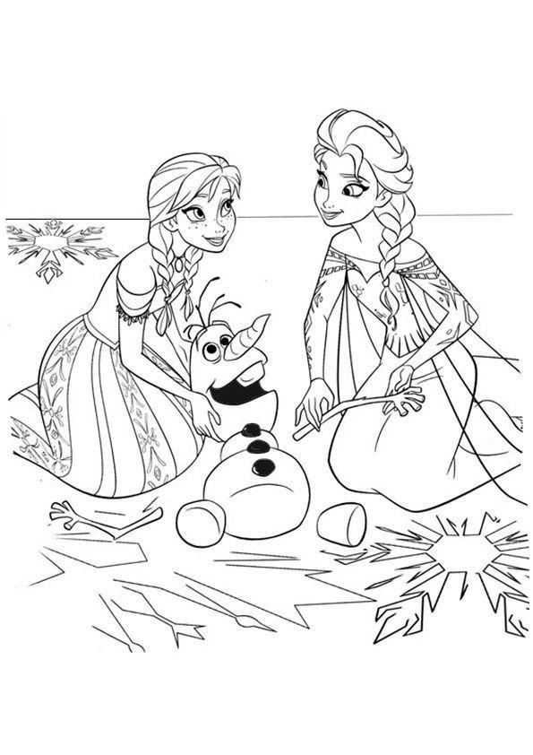 Olaf Frozen Ausmalbilder Genial Eiskönigin Malvorlagen Ausmalbildkostenlos Druckfertig Bilder