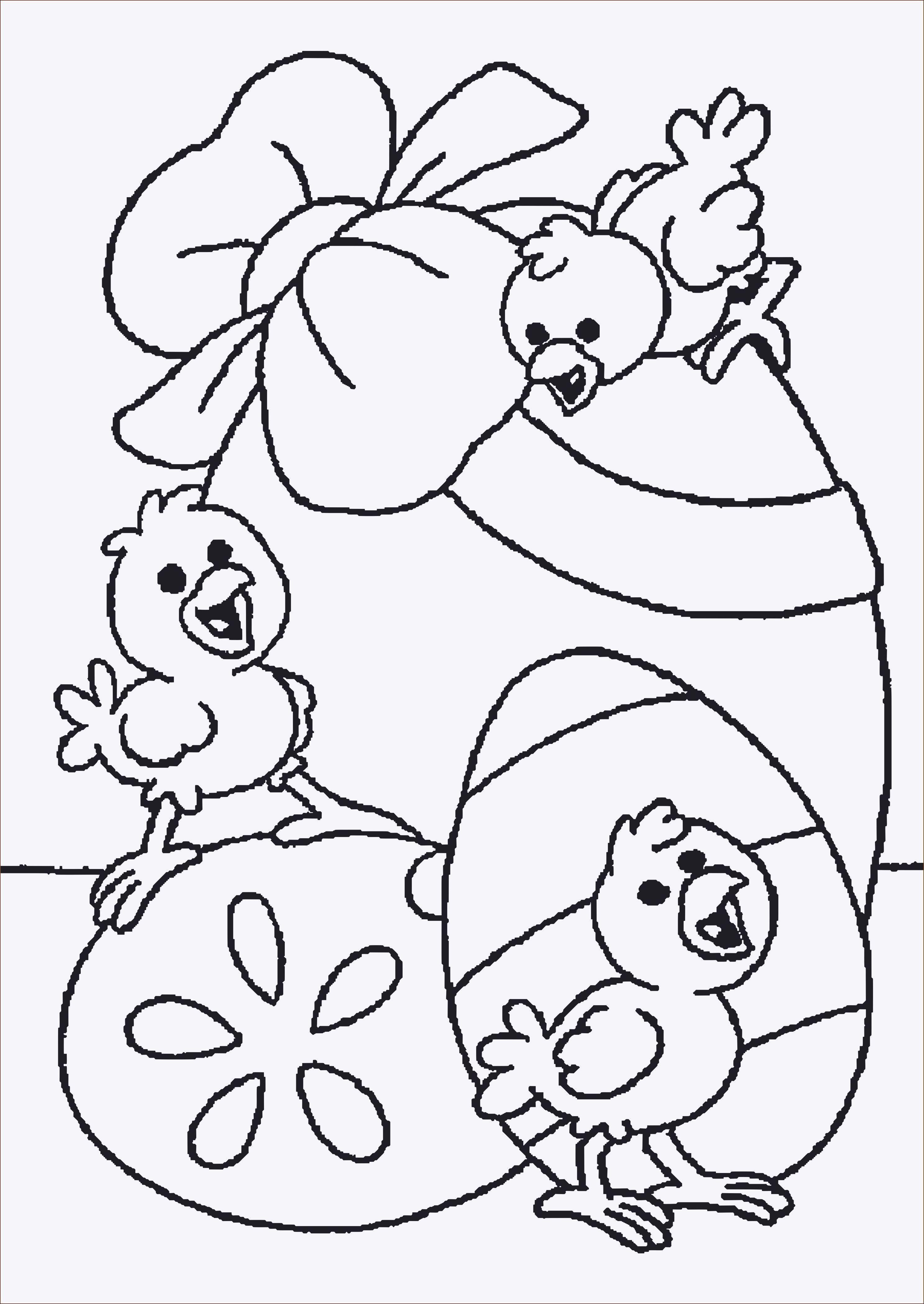 Ostereier Ausmalbilder Zum Ausdrucken Inspirierend Ausmalbilder Osterhase Kostenlos Inspirierend Malvorlagen Igel Sammlung