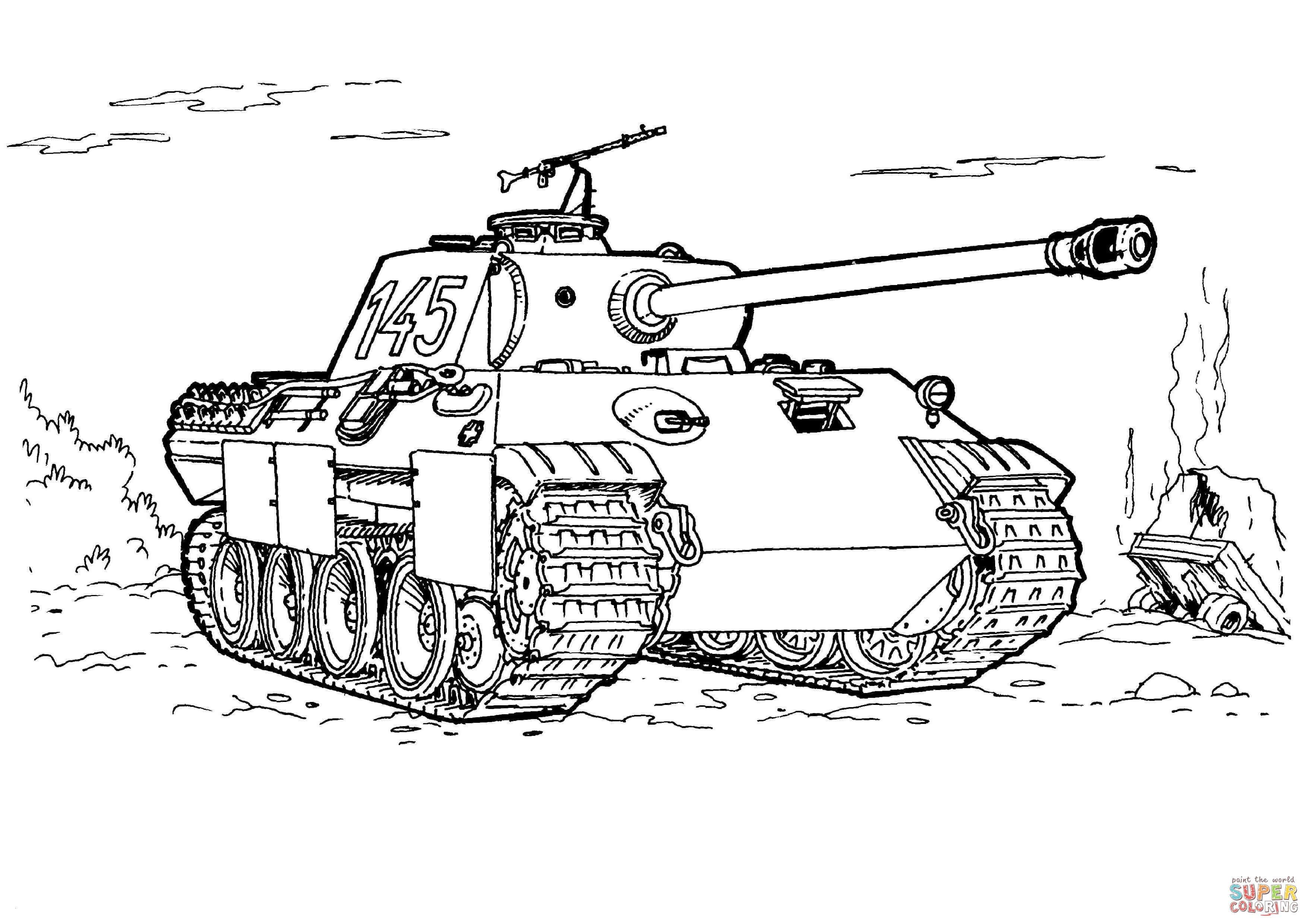 Panzer Zum Ausmalen Neu 40 Ausmalbilder Armee Scoredatscore Einzigartig Malvorlagen Panzer Sammlung