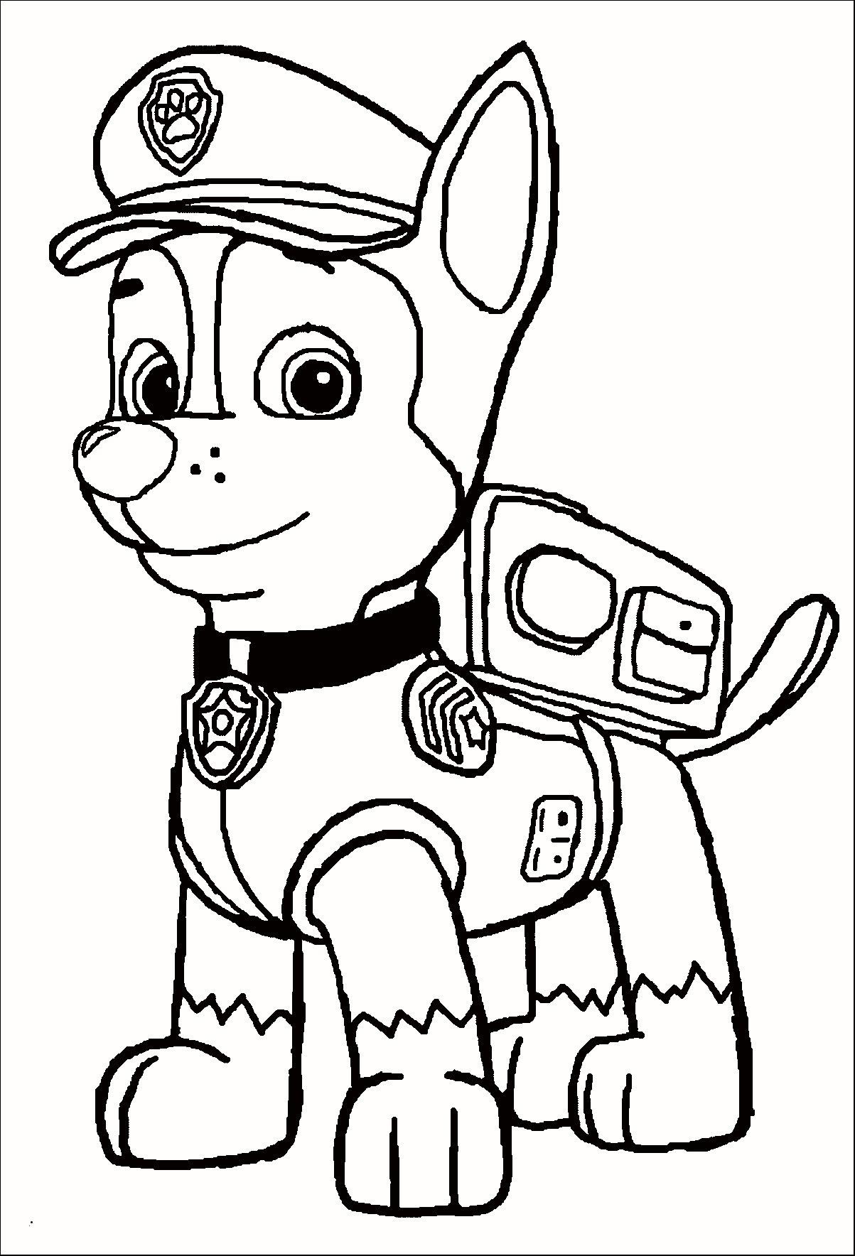Paw Patrol Ausmalbild Frisch 36 Skizze Paw Patrol Ausmalbilder Chase Treehouse Nyc Galerie