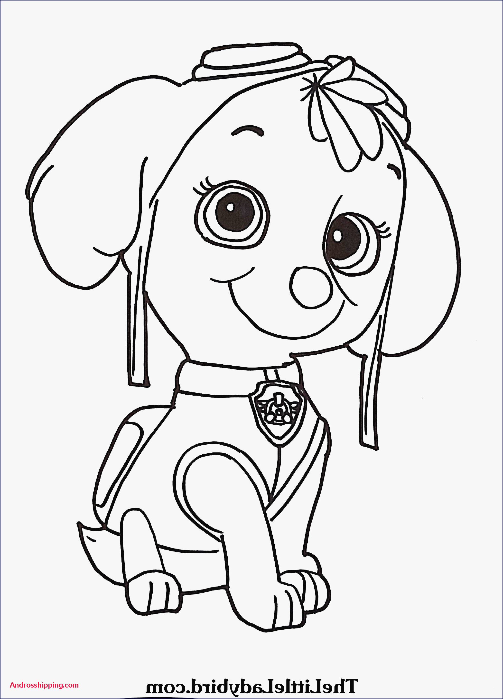 Paw Patrol Ausmalbild Genial 10 Awesome Coloring Pages Zuma From Paw Patrol androsshipping Sammlung