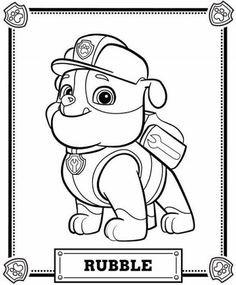 Paw Patrol Ausmalbild Inspirierend Ausmalbilder Paw Patrol Zum Ausdrucken Malvorlagen Für Kinder Bild
