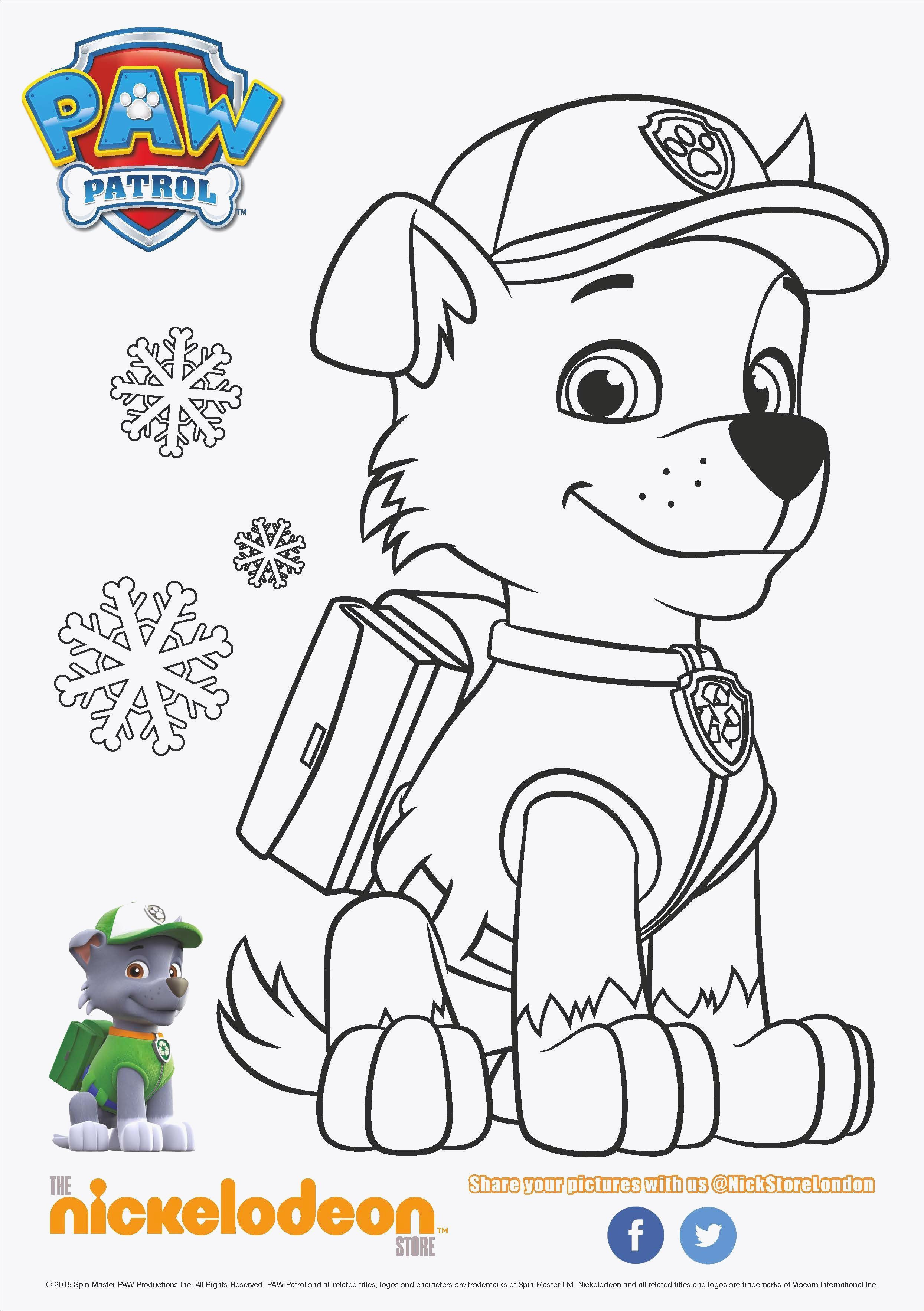 Paw Patrol Ausmalbilder Tracker Einzigartig Inspirational Free Paw Patrol Coloring Pages Coloring Pages Bild