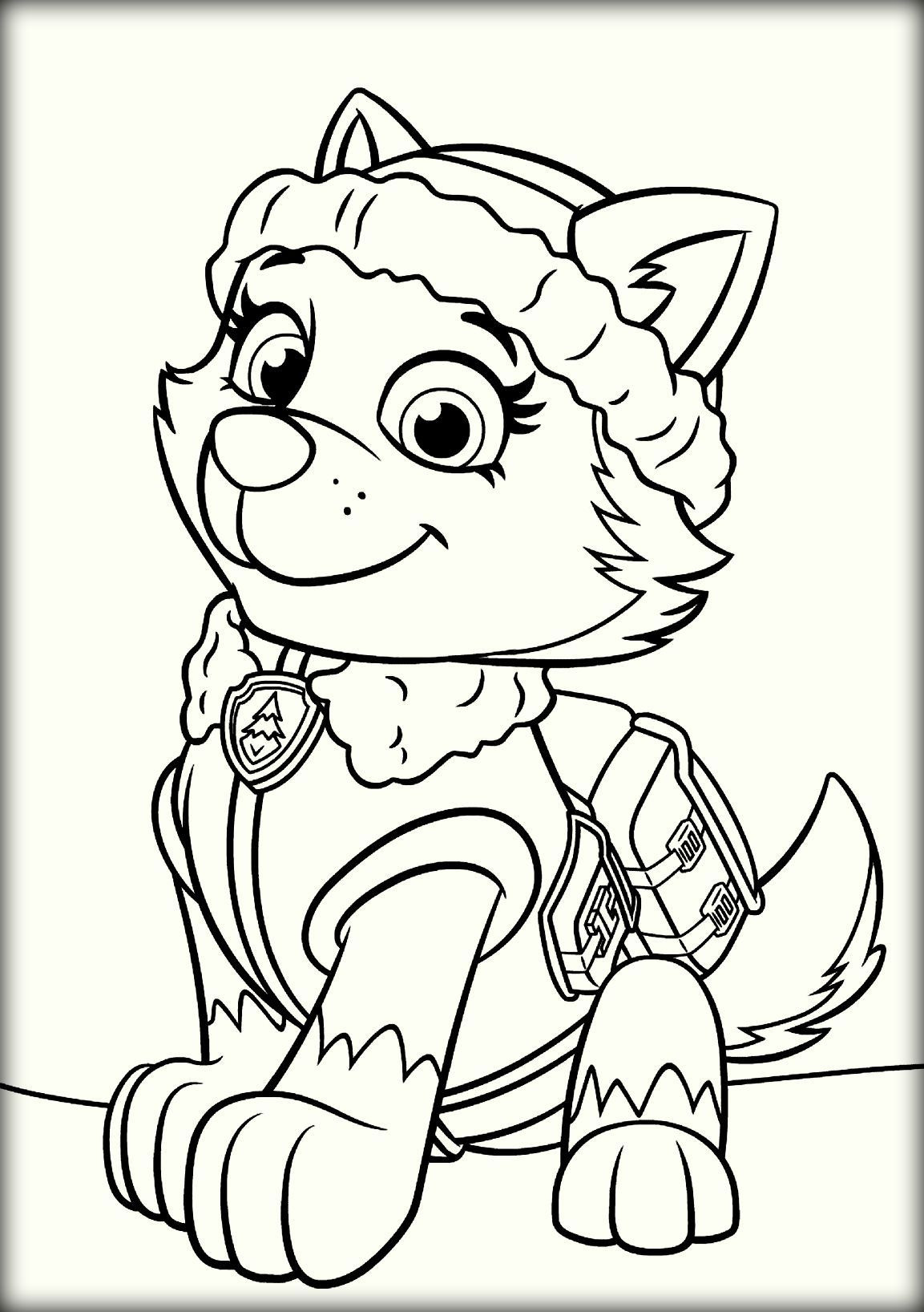 Paw Patrol Ausmalbilder Tracker Frisch Inspirational Free Paw Patrol Coloring Pages Coloring Pages Stock