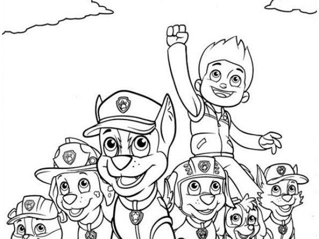 99 Das Beste Von Paw Patrol Ausmalen Das Bild Kinder Bilder