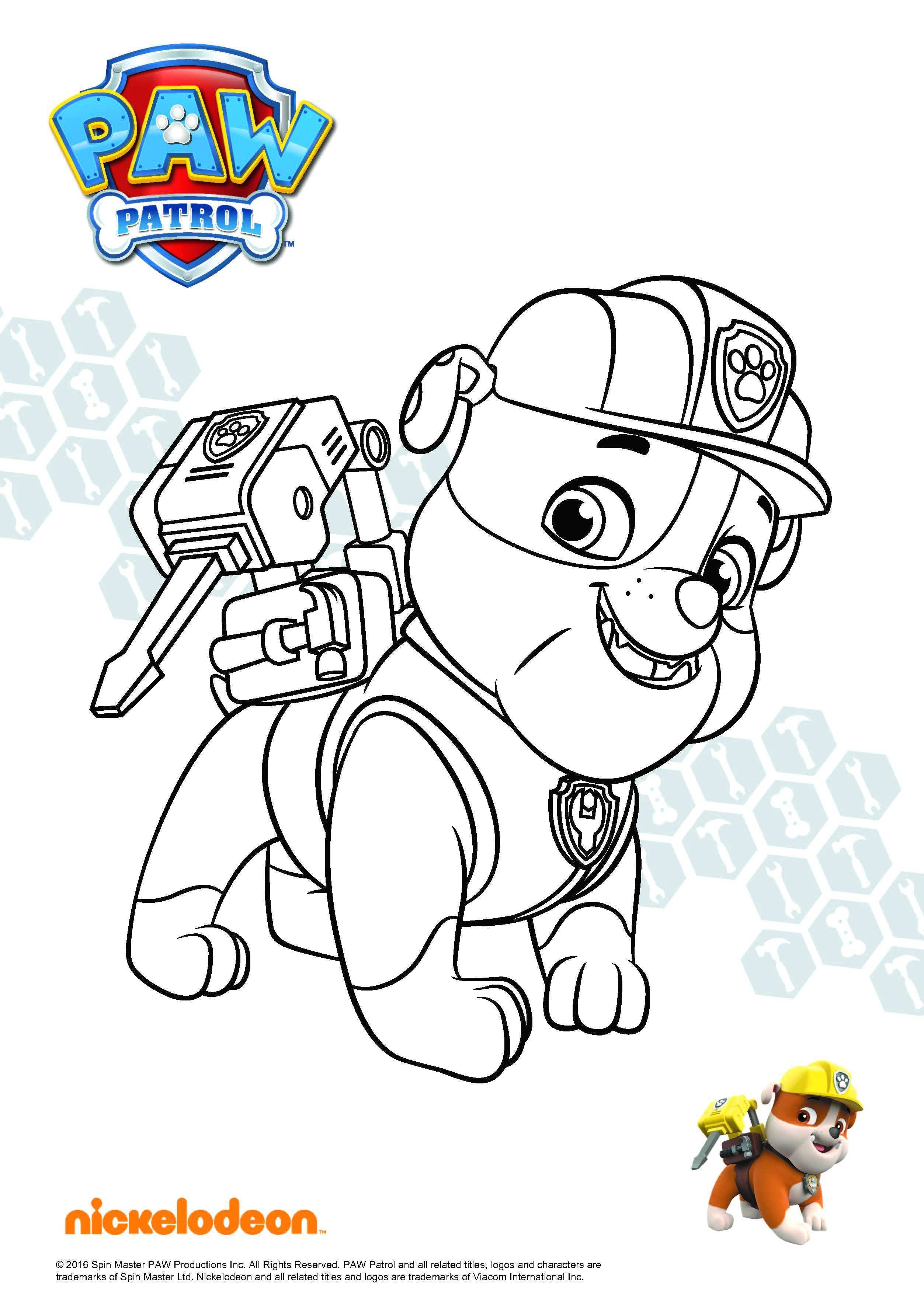 Paw Patrol Rocky Ausmalbilder Einzigartig Inspirational Free Paw Patrol Coloring Pages Coloring Pages Sammlung