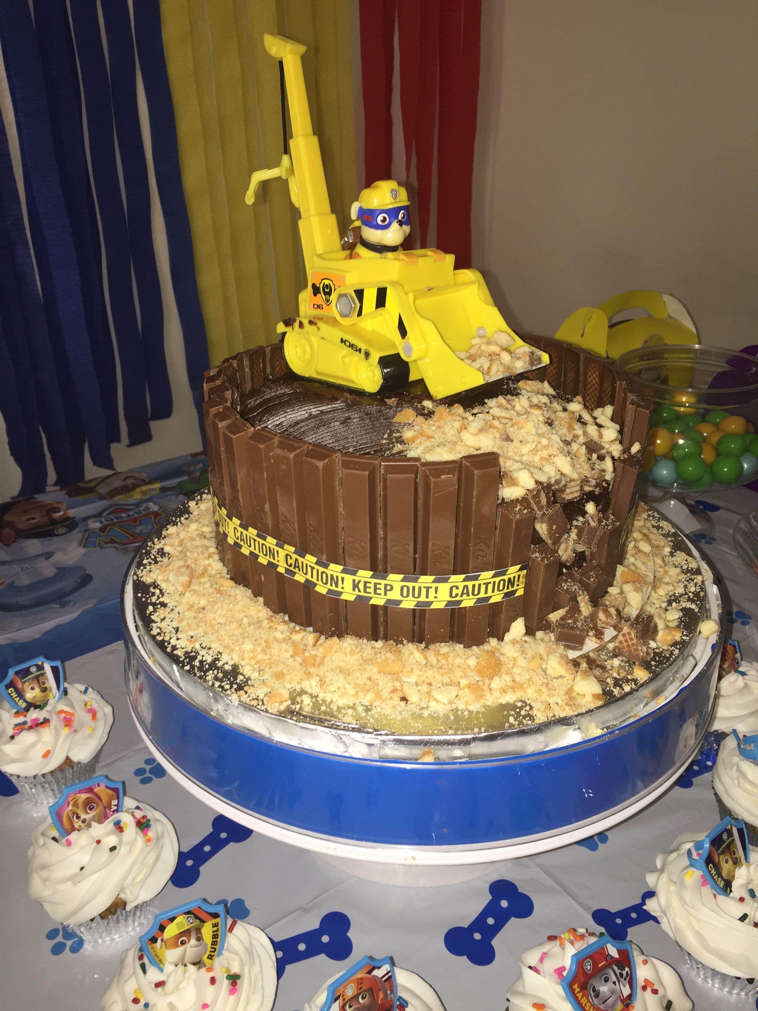 Paw Patrol Rocky Ausmalbilder Frisch Rubble Cake Pawpatrolparty Pawpatrol Pawpatrolbday Pawpatrolcake Das Bild