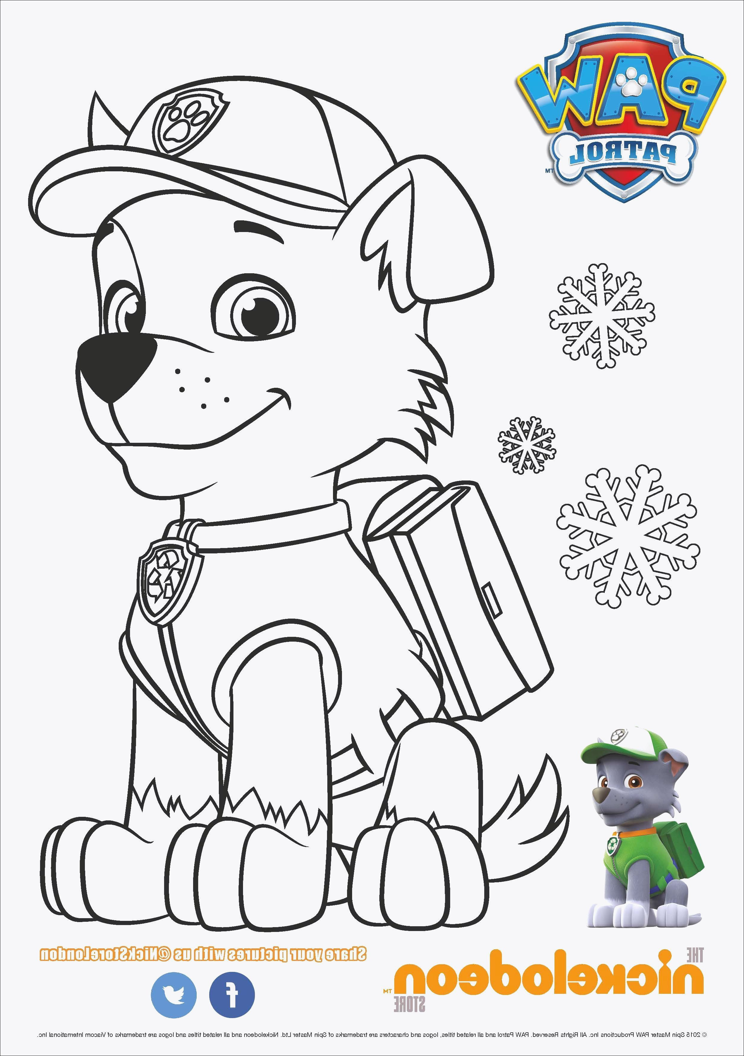 Paw Patrol Rocky Ausmalbilder Neu 43 Einzigartig Paw Patrol Ausmalbilder Chase – Große Coloring Page Bild
