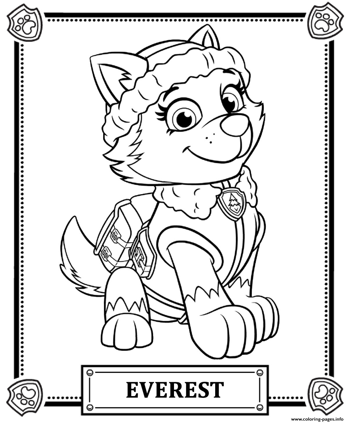 Paw Patrol Sky Ausmalbilder Inspirierend Inspirational Free Paw Patrol Coloring Pages Coloring Pages Fotos