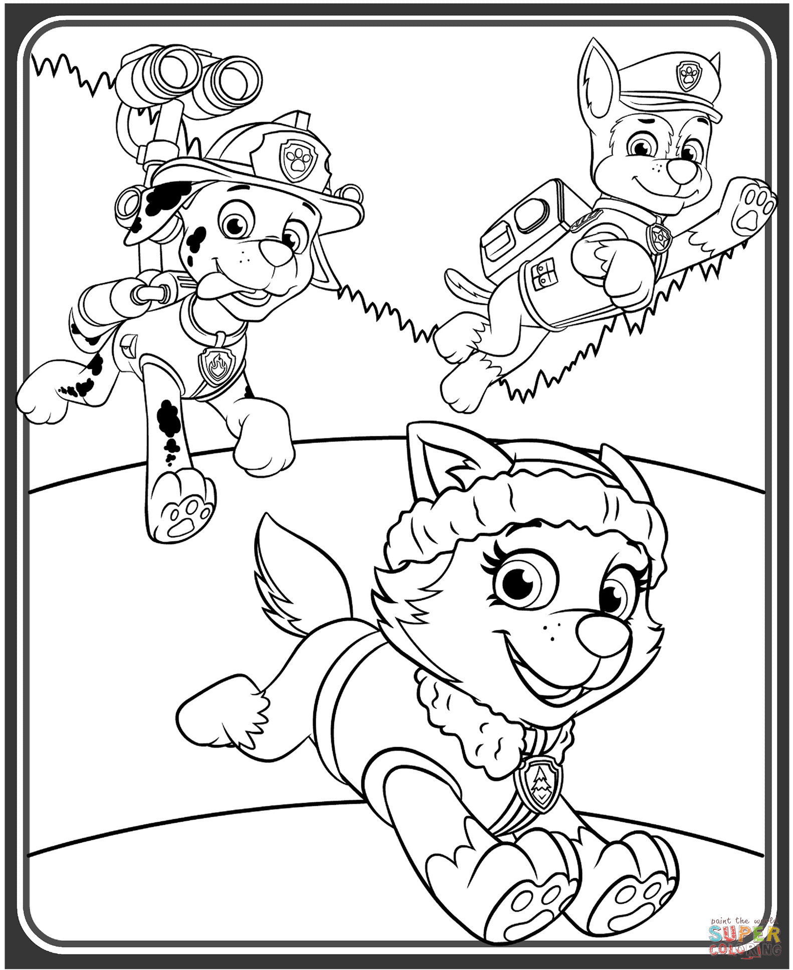 Paw Patrol Zentrale Ausmalbilder Inspirierend Last Chance Chase Coloring Page the Truth About Paw Patrol 8216 Das Bild