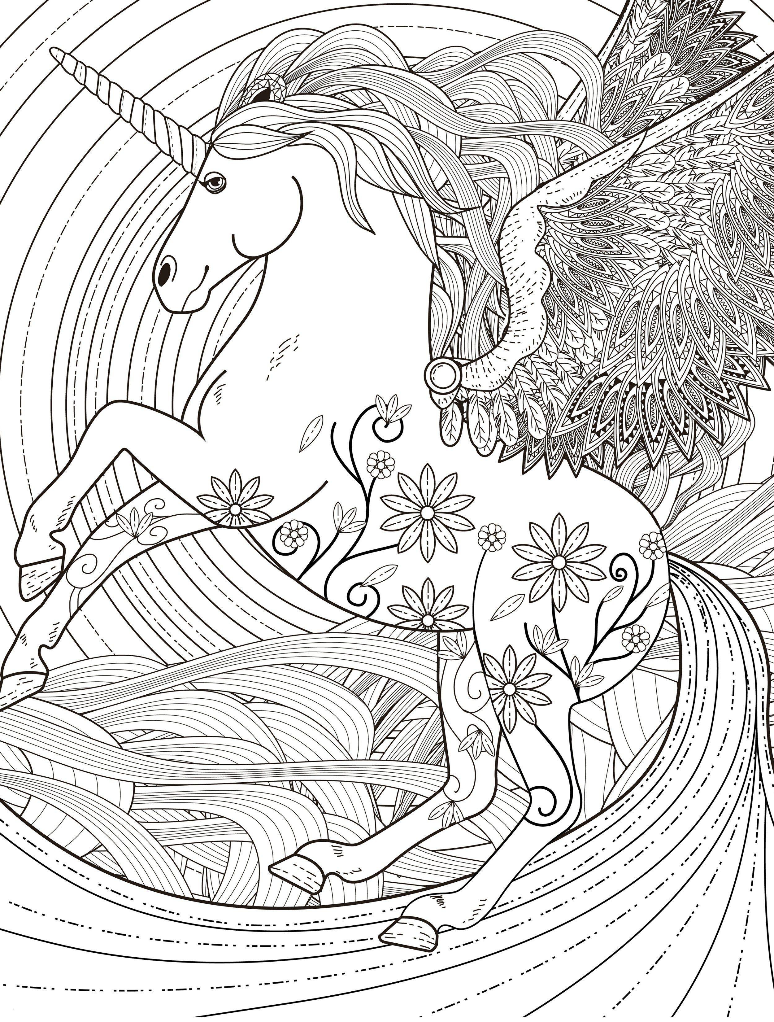 Pegasus Zum Ausmalen Neu Pegasus Adult Coloring Page Free Davlin Publishing Schön Sammlung