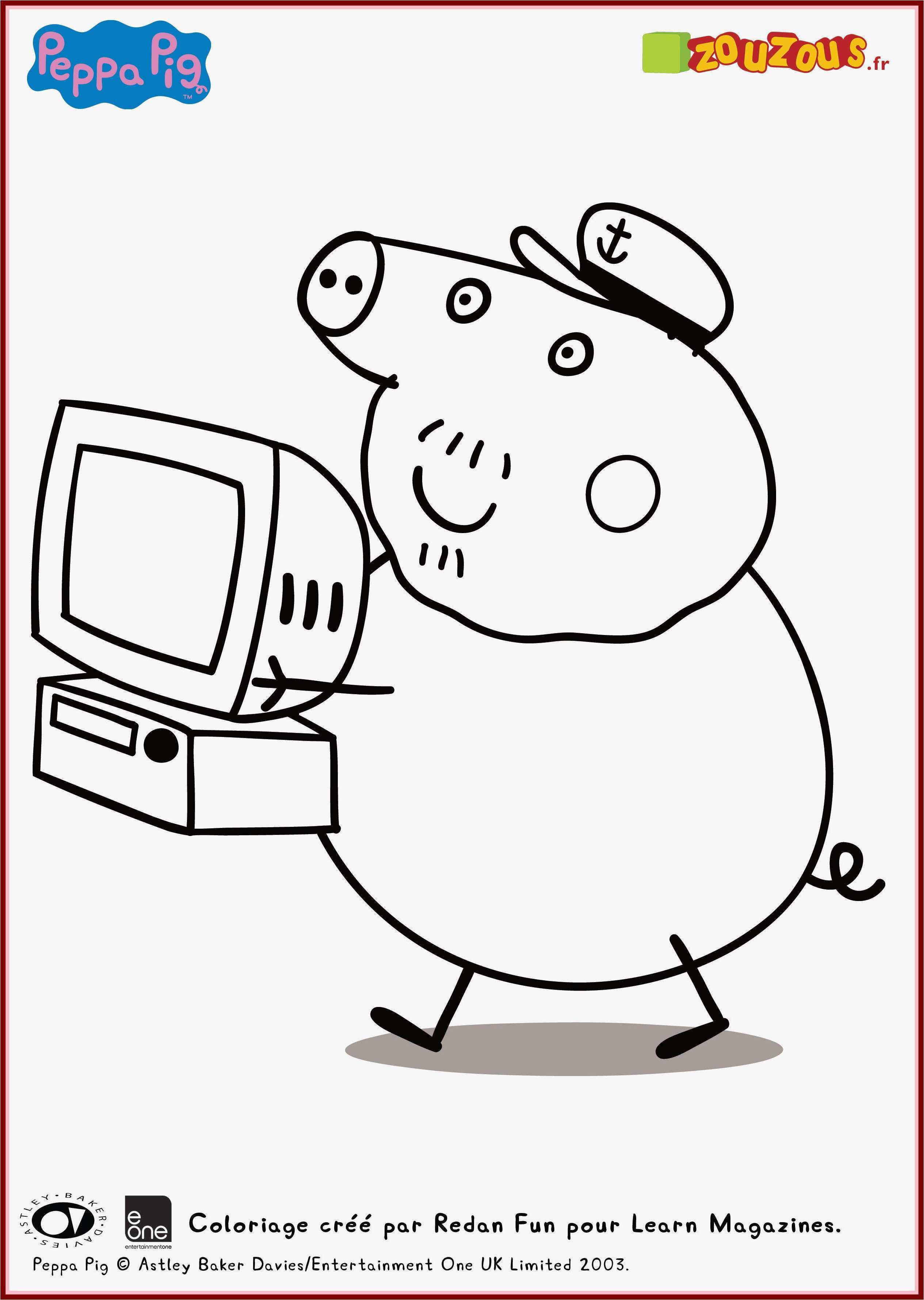 Peppa Pig Ausmalbilder Das Beste Von Free Peppa Pig Coloring Pages New Verschiedene Bilder Färben Bild