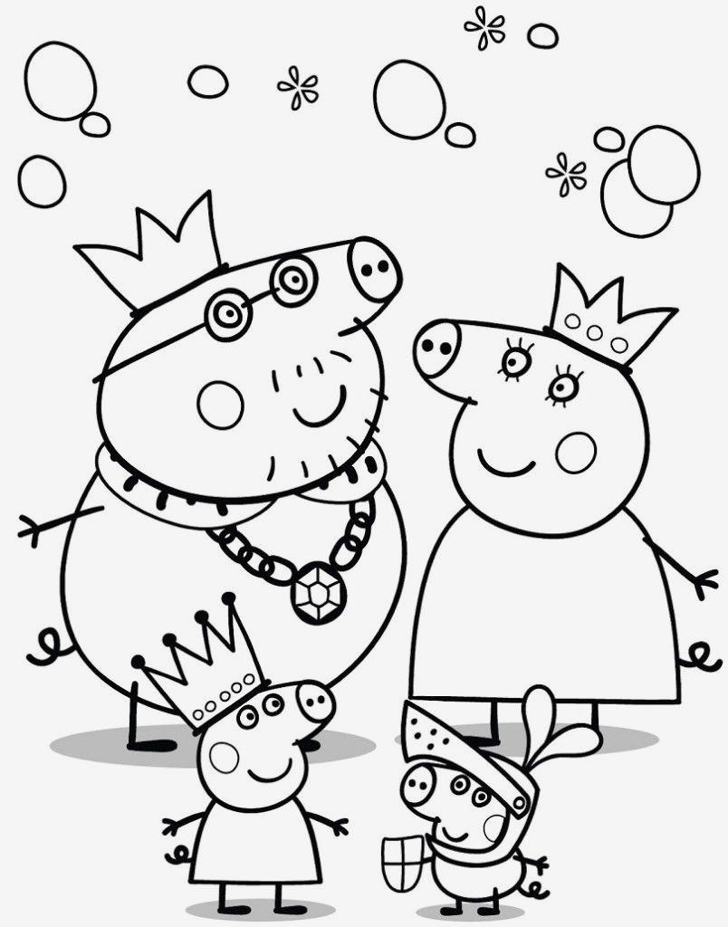 Peppa Pig Ausmalbilder Einzigartig Lernspiele Färbung Bilder Peppa Wutz Ausmalbilder Fotos