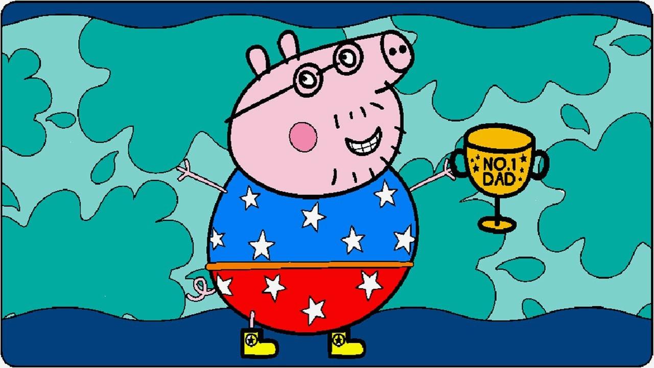 Peppa Pig Ausmalbilder Frisch Lernspiele Färbung Bilder Peppa Wutz Ausmalbilder Das Bild
