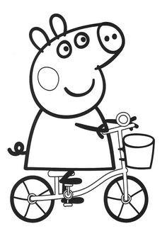 Peppa Pig Ausmalbilder Genial 40 Besten Malvorlagen Bilder Auf Pinterest Sammlung