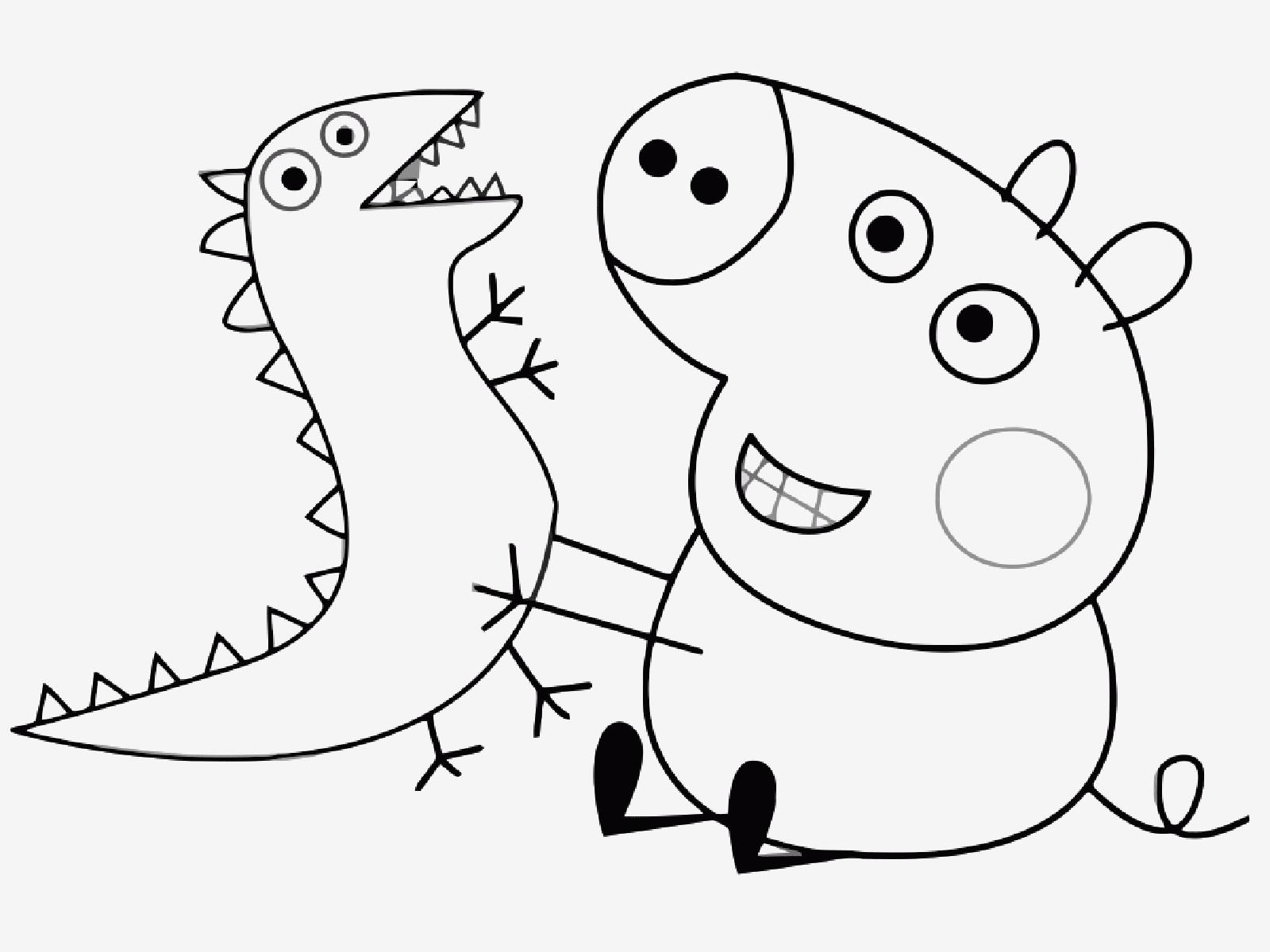 Peppa Pig Ausmalbilder Genial Malvorlage Peppa Wutz Bilder Zum Ausmalen Bekommen Peppa Pig Fotos