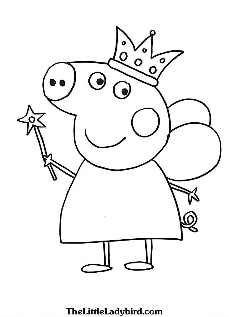 Peppa Pig Ausmalbilder Genial Peppa Pig Printable Coloring Pages Fresh Peppa Pig Printable Free Galerie