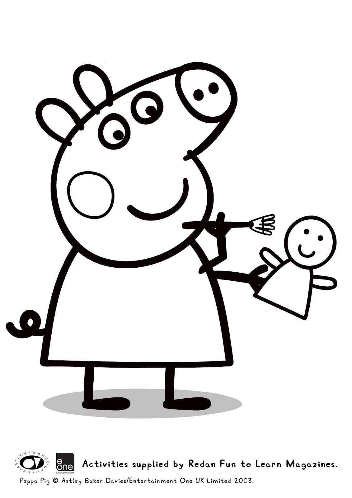 Peppa Pig Ausmalbilder Inspirierend Guarda Tutti I Disegni Da Colorare Di Peppa Pig Inspirierend Peppa Sammlung