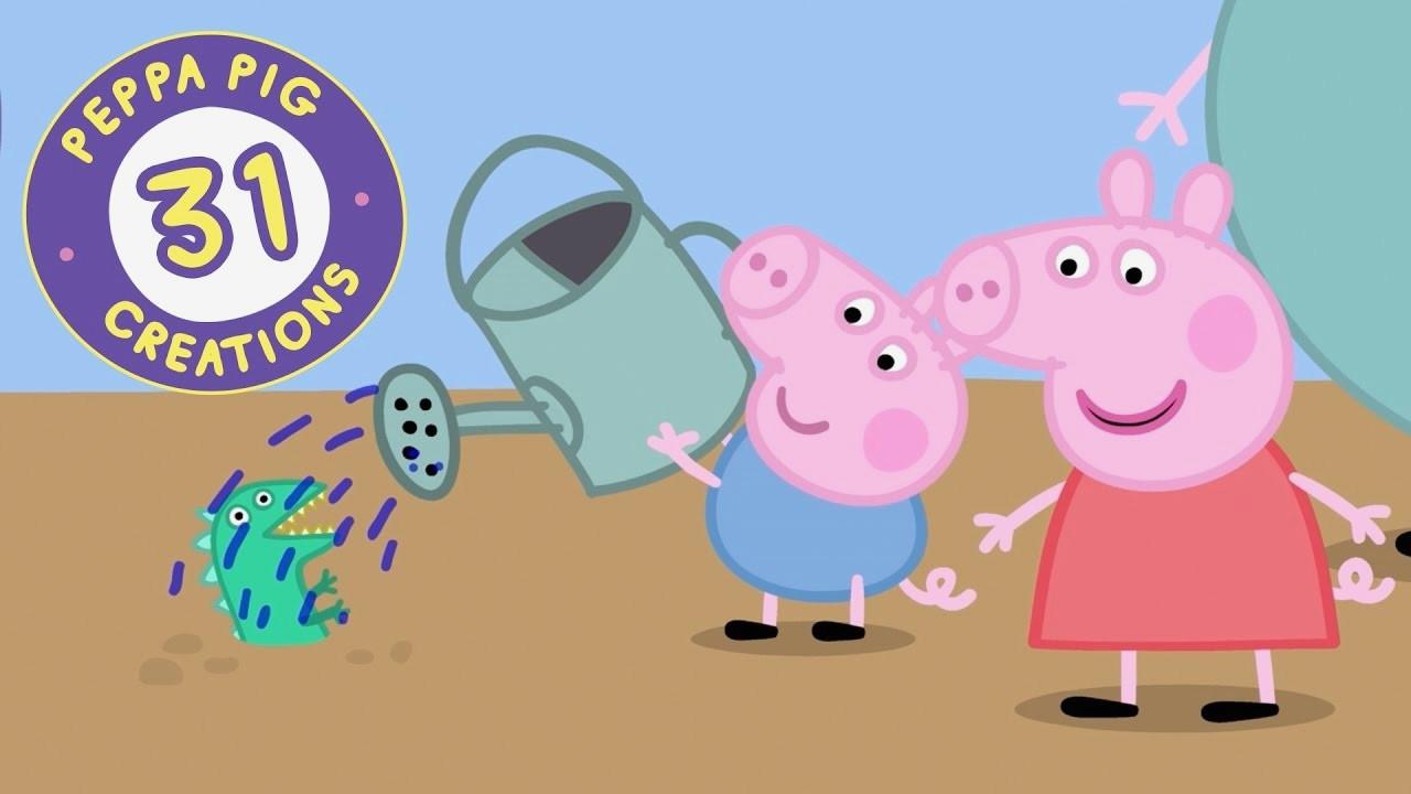 Peppa Pig Ausmalbilder Inspirierend Malvorlage Peppa Wutz Verschiedene Bilder Färben Peppa Pig Creations Das Bild