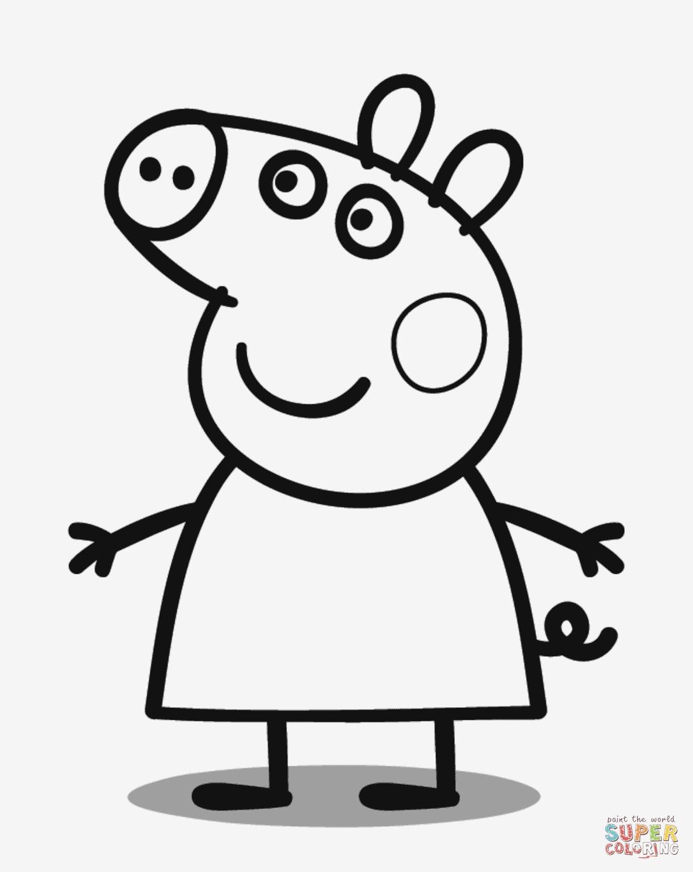 Peppa Pig Ausmalbilder Neu Lernspiele Färbung Bilder Peppa Wutz Ausmalbilder Bilder