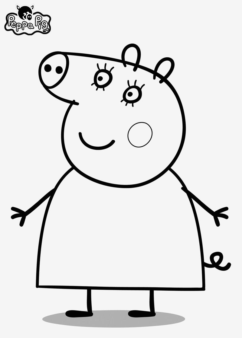 Peppa Pig Ausmalbilder Neu Malvorlage Peppa Wutz Bilder Zum Ausmalen Bekommen Peppa Pig Bilder