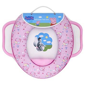 Peppa Wutz Deutsch Schwimmen Das Beste Von Peppa Pig Weich Gepolsterter toilettensitz Mit Griffen Amazon Baby Fotos