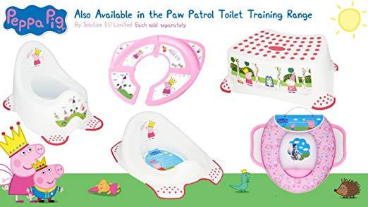 Peppa Wutz Deutsch Schwimmen Neu Peppa Pig Weich Gepolsterter toilettensitz Mit Griffen Amazon Baby Das Bild