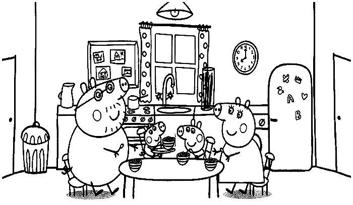 peppa wutz malvorlage einzigartig janbleil disegni gratis