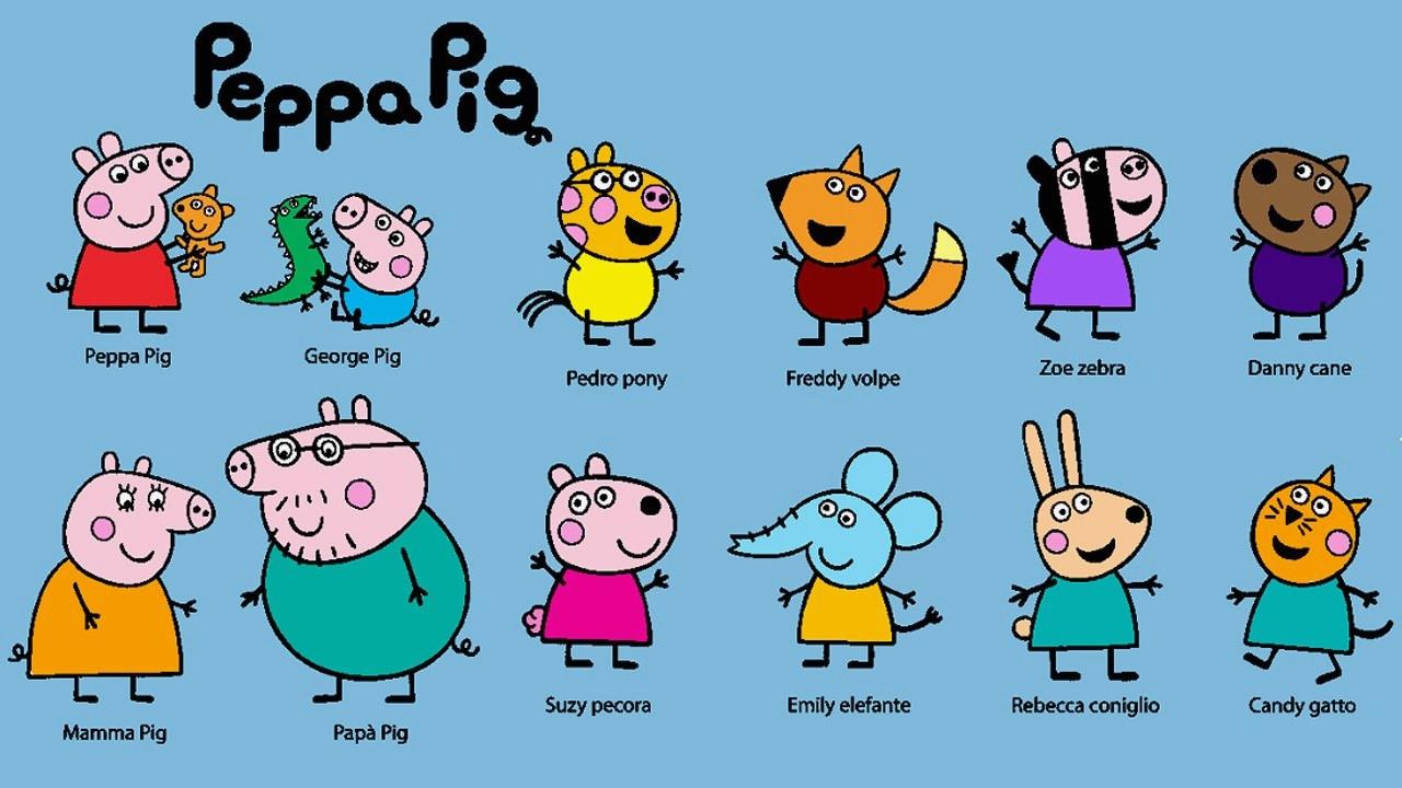 Peppa Wutz Malvorlage Genial Lernspiele Färbung Bilder Peppa Wutz Ausmalbilder Bilder