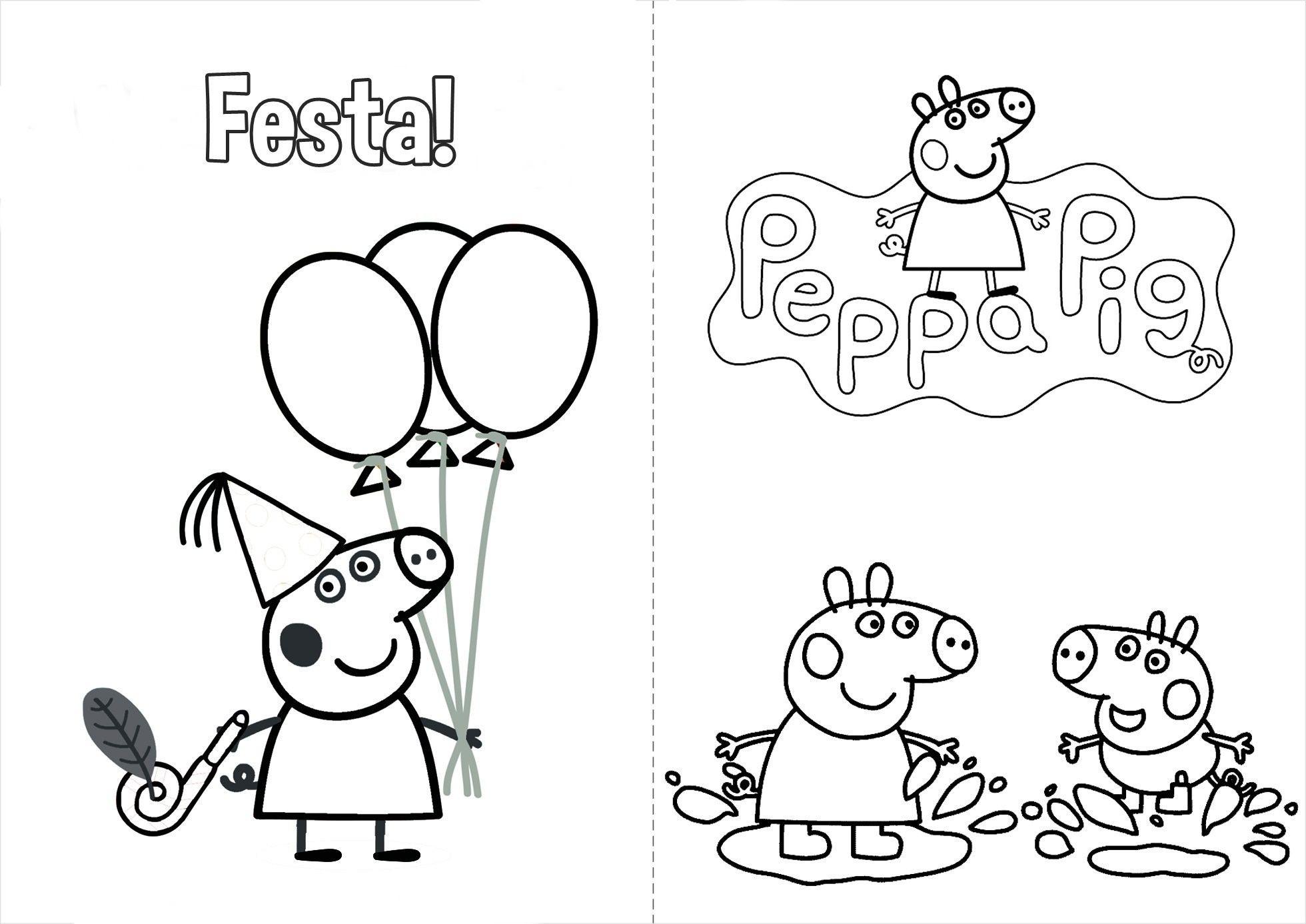 Peppa Wutz Malvorlage Genial Peppa Pig Colorir Peppa Pig Livro Para Colorir Schön Ausmalbilder Galerie