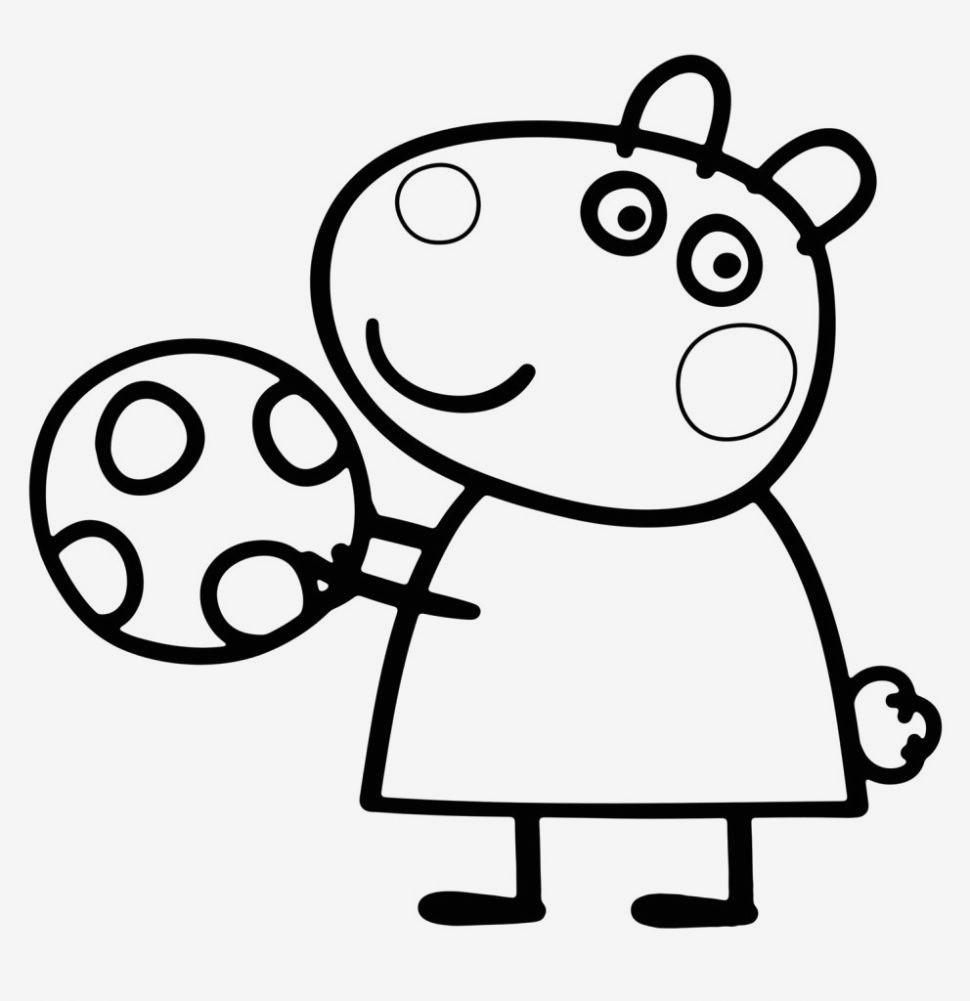 Peppa Wutz Malvorlage Neu Ausmalbilder Peppa Wutz Lernspiele Färbung Bilder George Pig Bus Stock