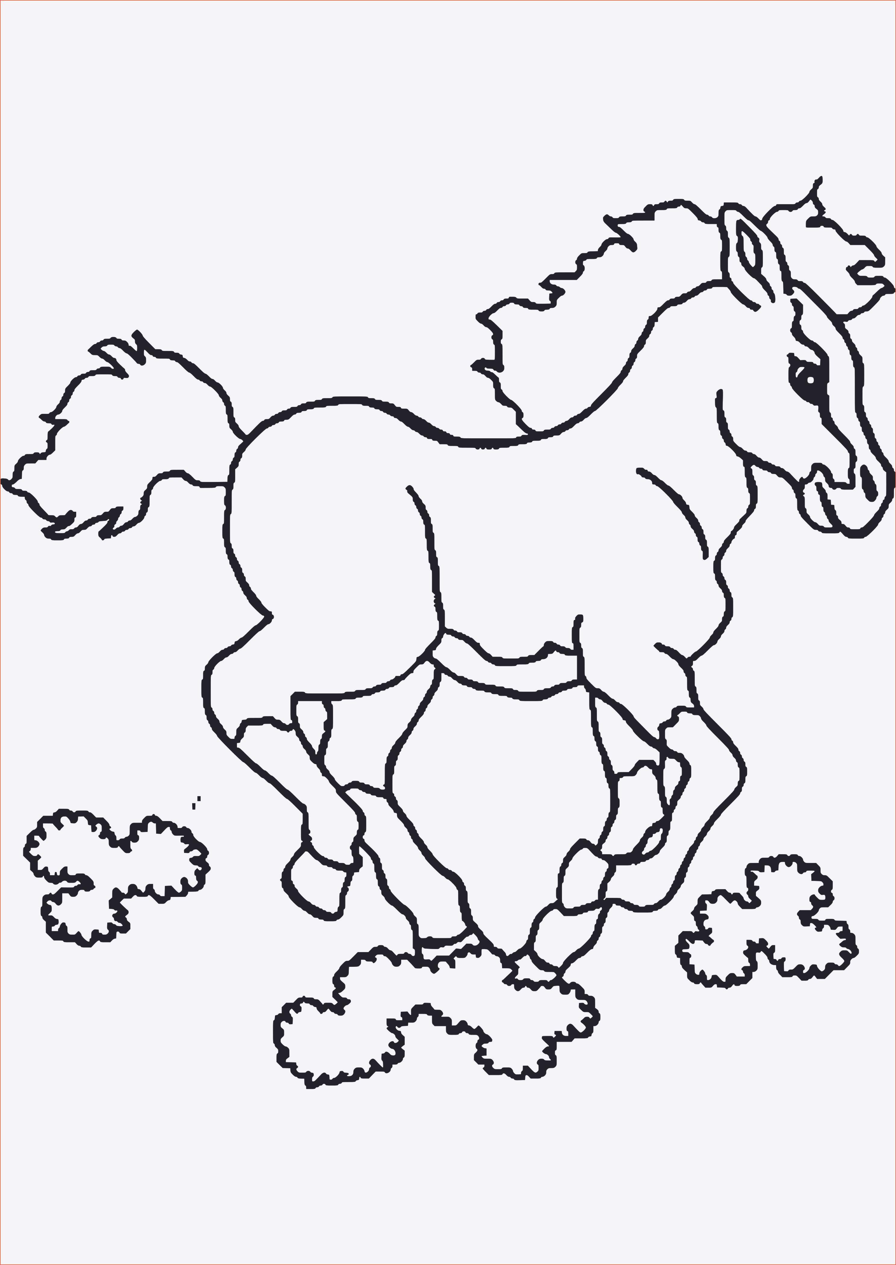 Pferde Ausmalbilder Horseland Das Beste Von Malvorlagen Pferde A4 Das Bild
