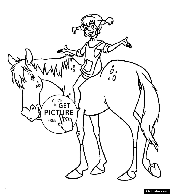 Pferde Ausmalbilder Horseland Genial 35 Ausmalbilder Pippi forstergallery Bilder