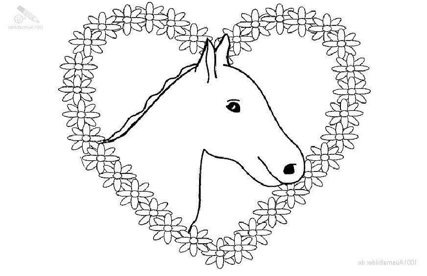 Pferde Ausmalbilder Mit Reiter Das Beste Von 25 Lecker Pferd Ausmalen – Malvorlagen Ideen Das Bild