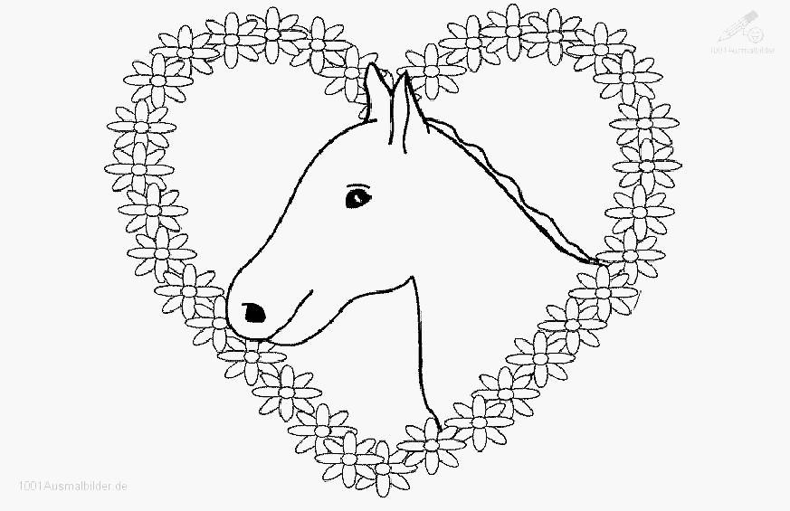 Pferde Ausmalbilder Zum Drucken Das Beste Von Herz Bilder Zum Ausdrucken Beispiel Herz Vorlage Groß Galerie