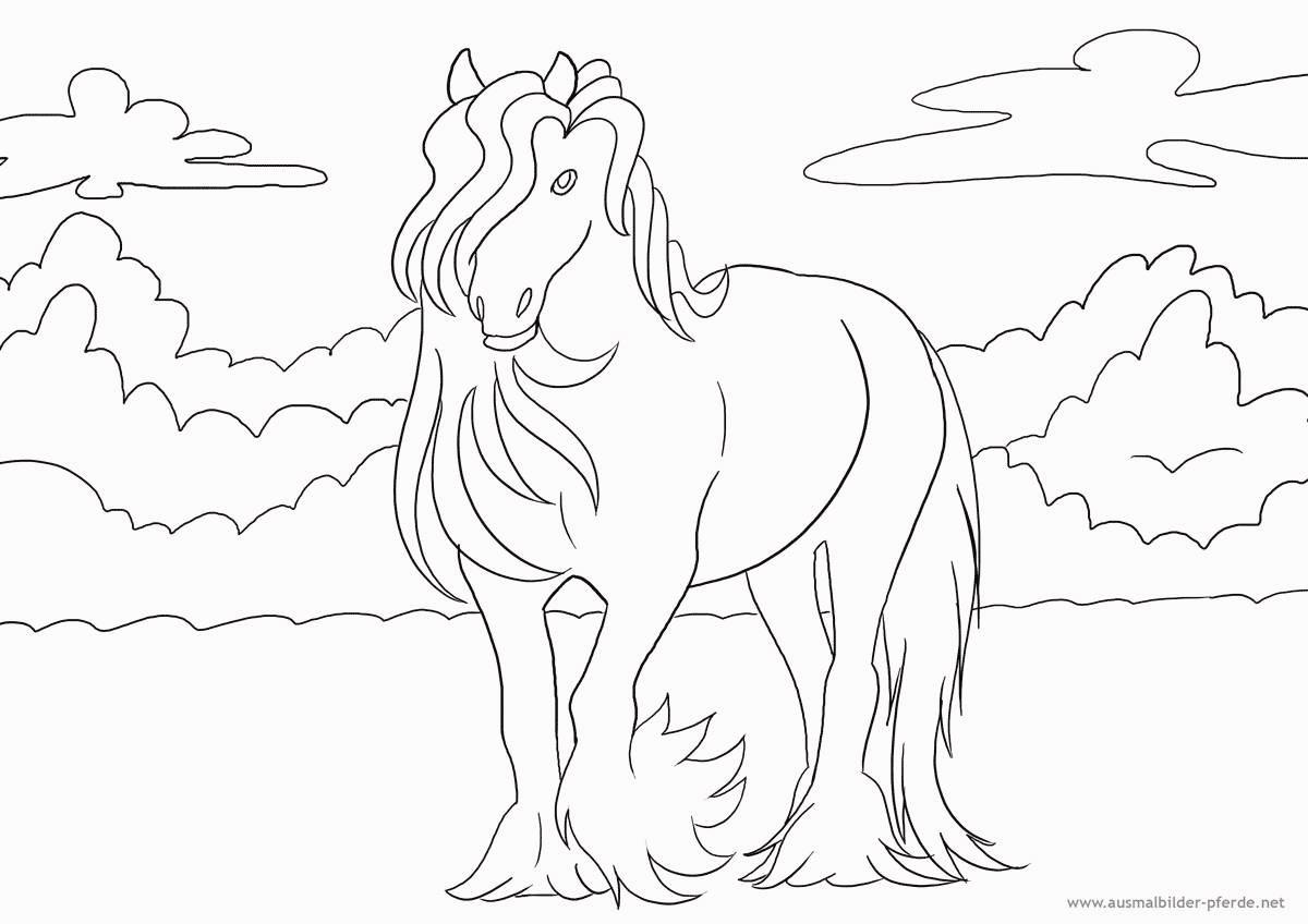 Pferde Ausmalbilder Zum Drucken Inspirierend Pferde Bilder Zum Ausdrucken Unique 40 Pferde Ausmalbilder Zum Bild