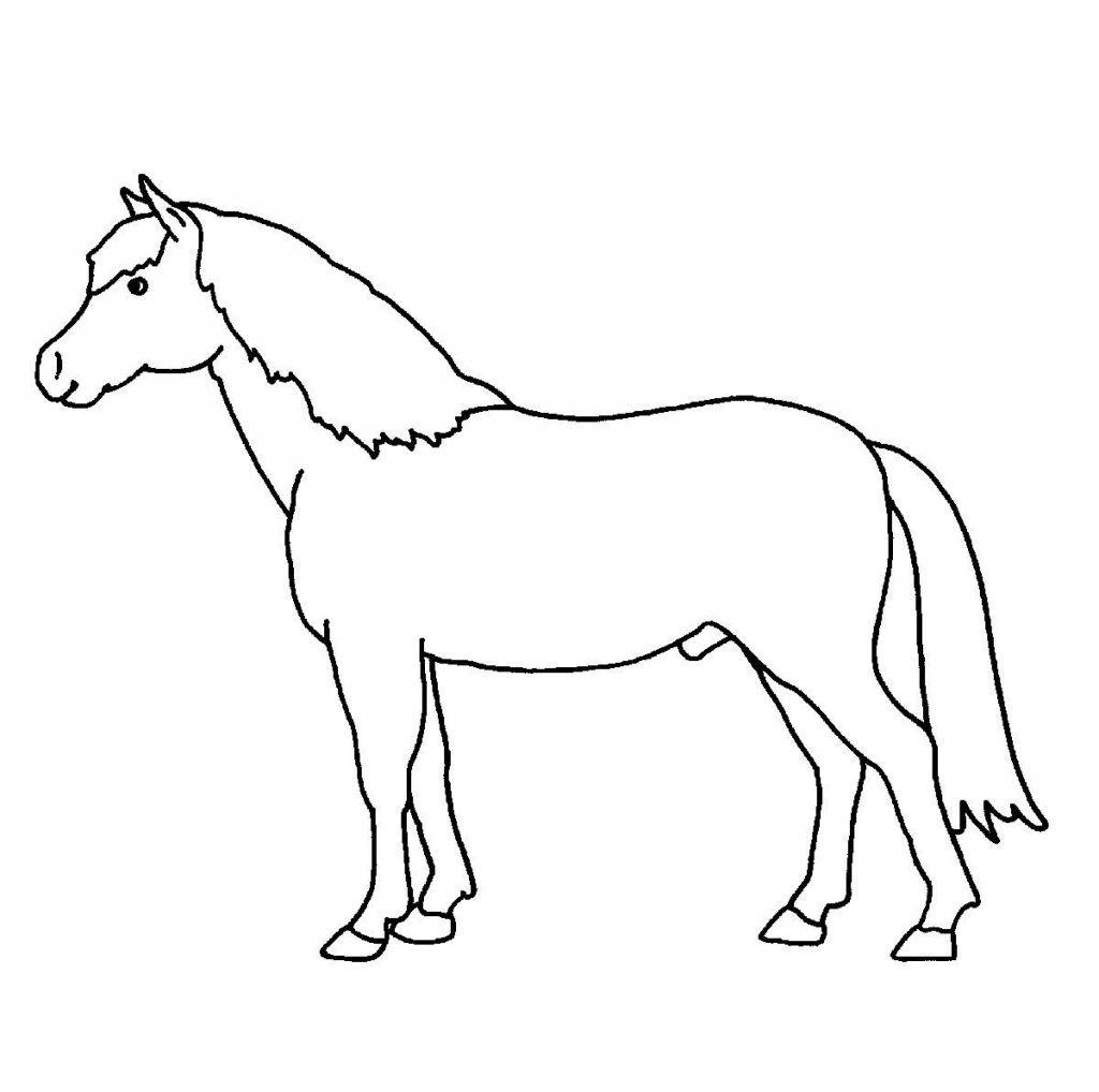 Pferde Ausmalbilder Zum Drucken Neu Druckbare Malvorlage Ausmalbilder Kostenlos Pferde Beste Galerie
