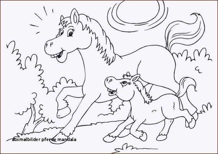 Pferde Bilder Zum Ausdrucken Einzigartig 26 Ausmalbilder Pferde Mandala Stock