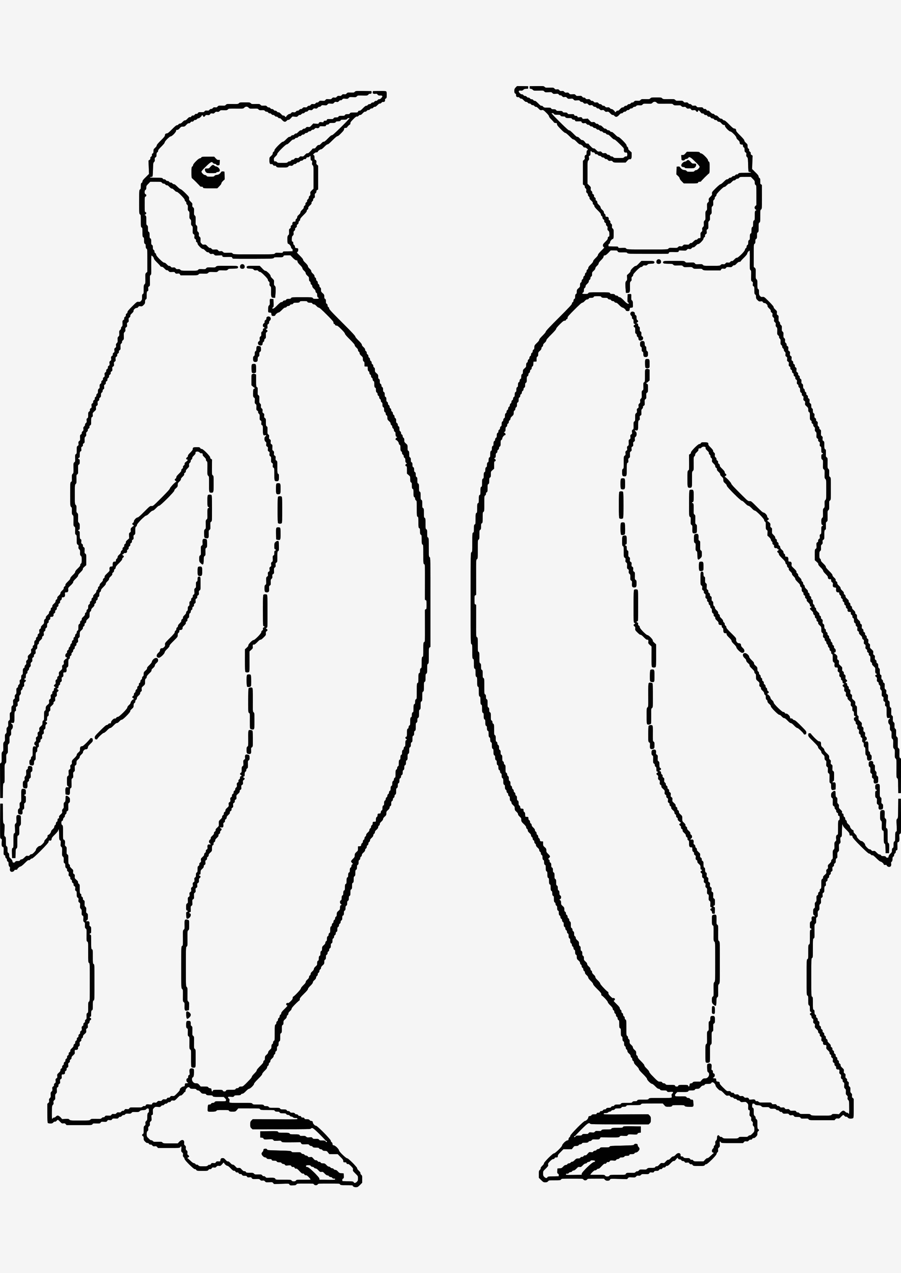 Pinguin Vorlage Zum Ausmalen Das Beste Von Eine Sammlung Von Färbung Bilder Pinguin Ausmalbilder Bilder