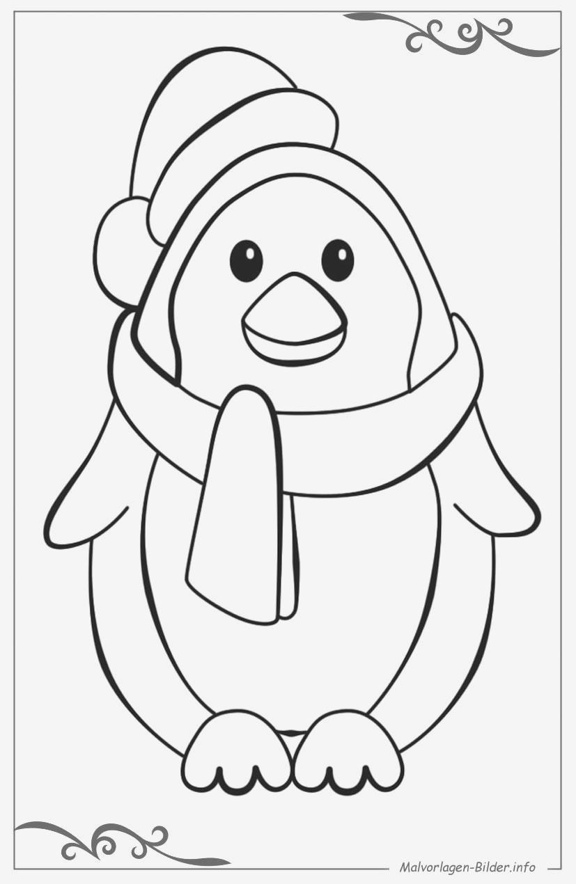 Pinguin Vorlage Zum Ausmalen Genial Eine Sammlung Von Färbung Bilder Pinguin Ausmalbilder Sammlung