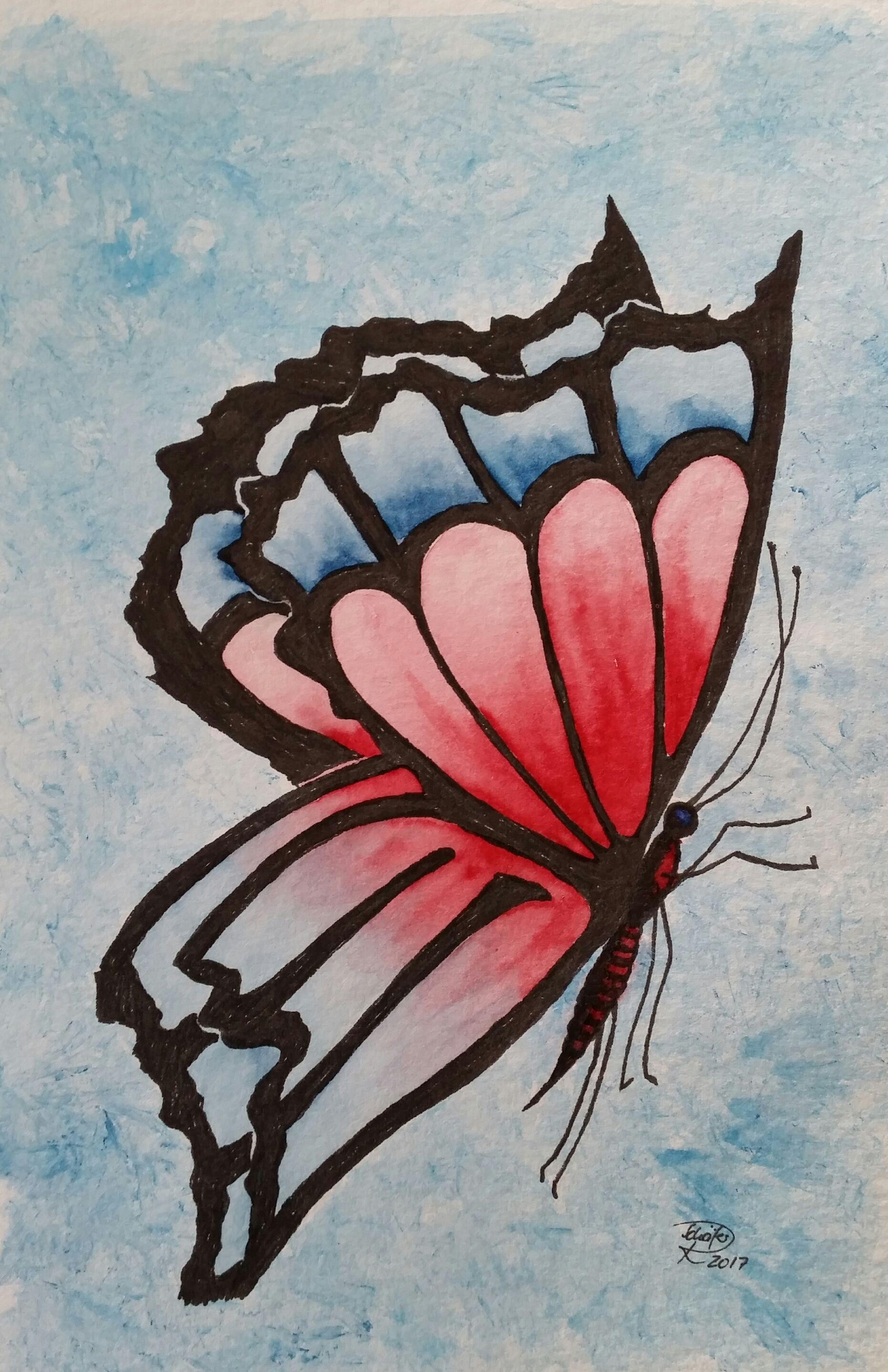 Pinterest Bilder Malen Einzigartig Aquarell Watercolor Schmetterling butterfly Fotografieren
