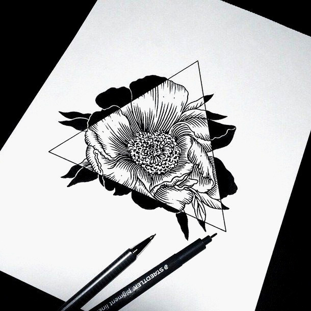 Pinterest Bilder Malen Einzigartig Pinterest Bilder Malen Modell Art Drawing Flowers Hipster Sketch Das Bild