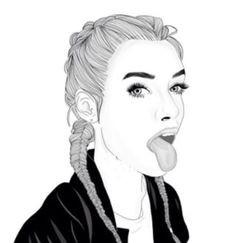 Pinterest Zeichnungen Bleistift Das Beste Von 100 Besten Mädchen Gezeichnet Tumblr Bilder Auf Pinterest Fotos
