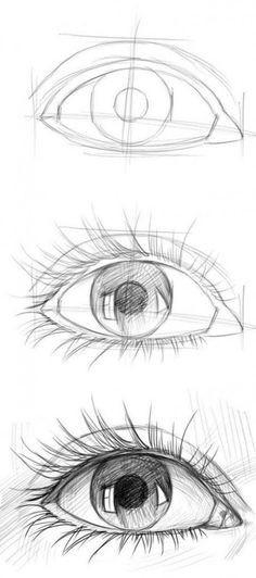 Pinterest Zeichnungen Bleistift Inspirierend Auge Von Der Seite Mit Bleistift Zeichnen Anleitung Das Bild