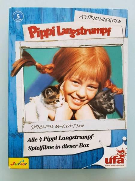 Pippi Langstrumpf Akkorde Das Beste Von Pippi Langstrumpf Spielfilm Edition 4 Dvds In Baden Württemberg Bilder